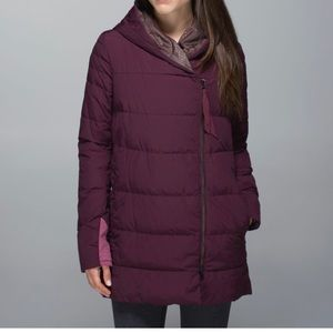 Lululemon puffy Blanket jacket